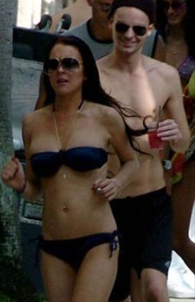 Lindsay Lohan arma escandalo